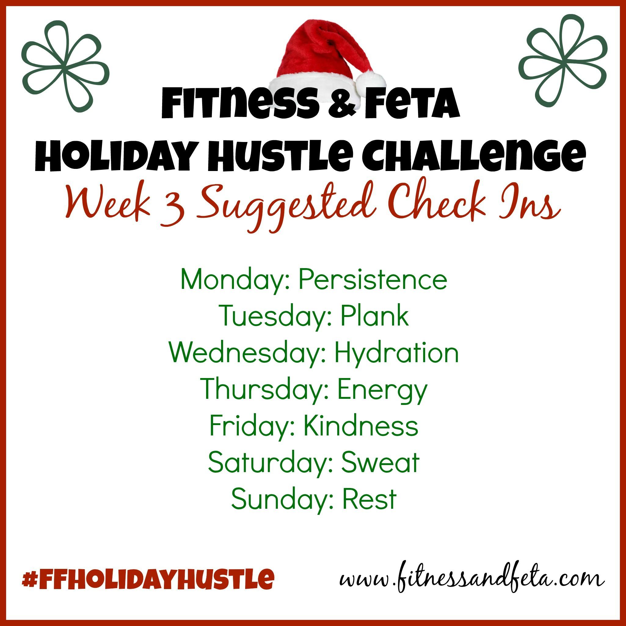 Week 3 Check Ins