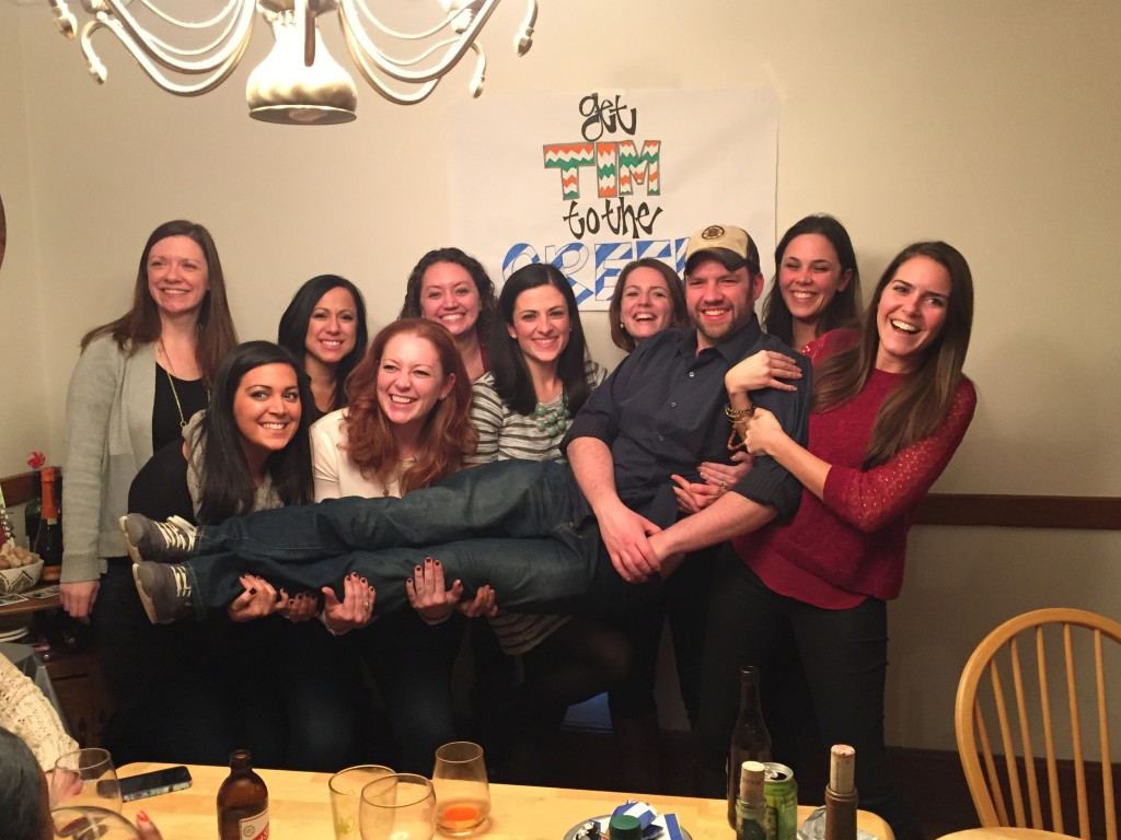 Party for the Party: Bridesmaids and Tim