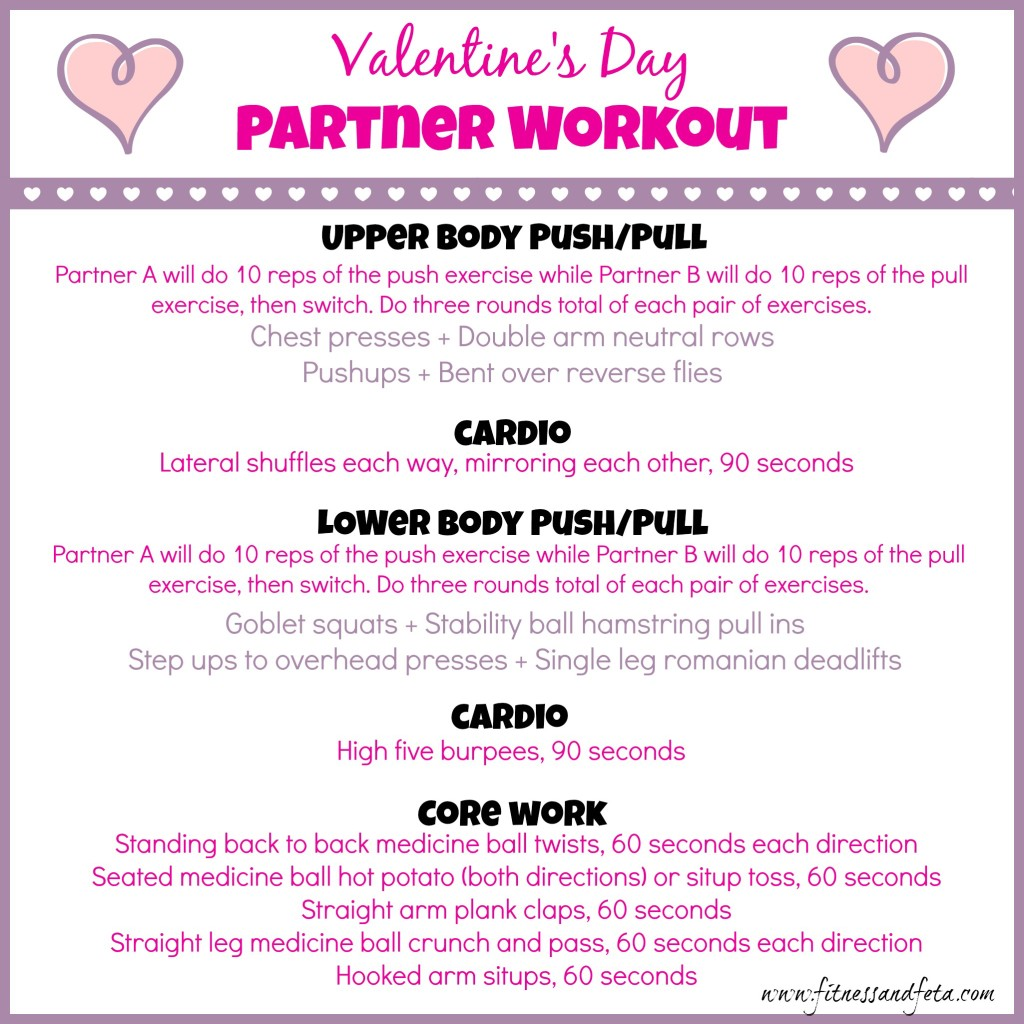 Valentine's Day Workout 2015