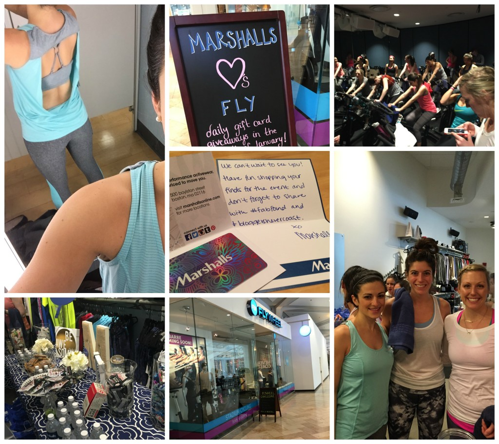 Flywheel + Marshalls Event