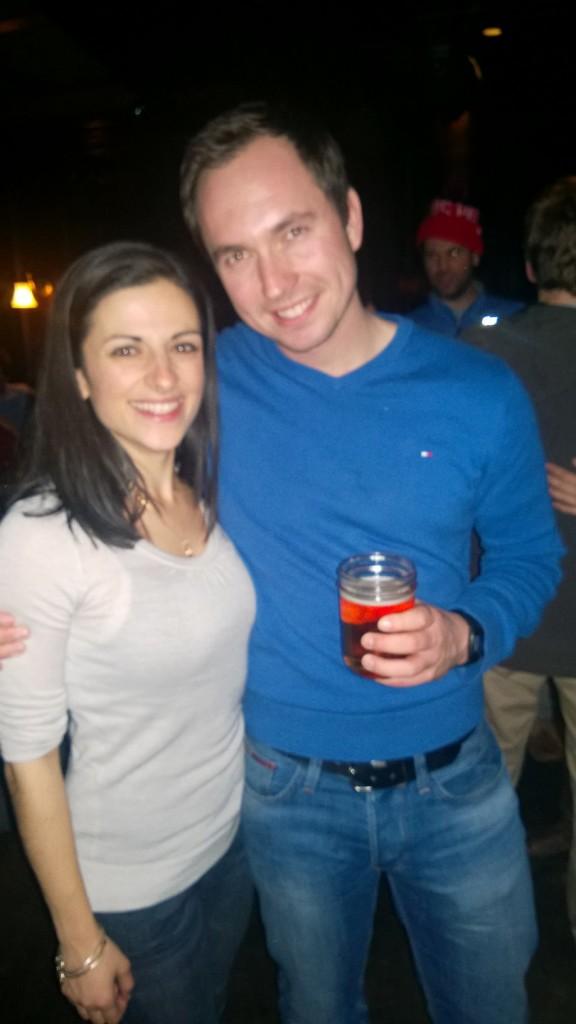 Me and Tim the German