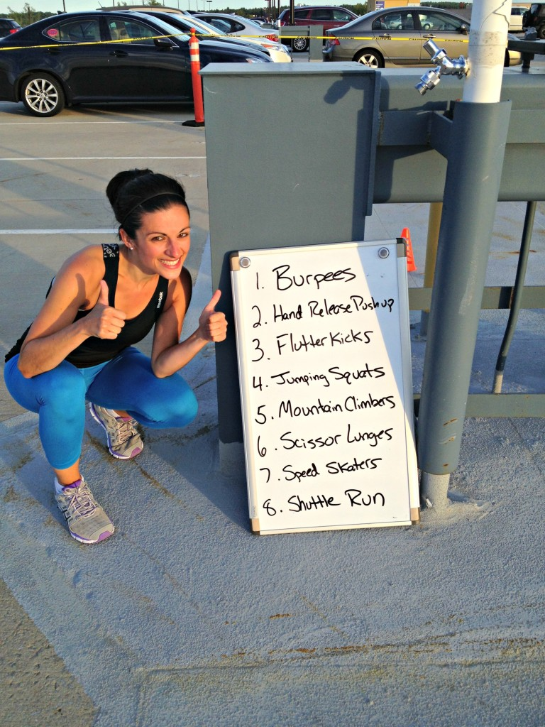 Eight Tabata Stations: CrossFit