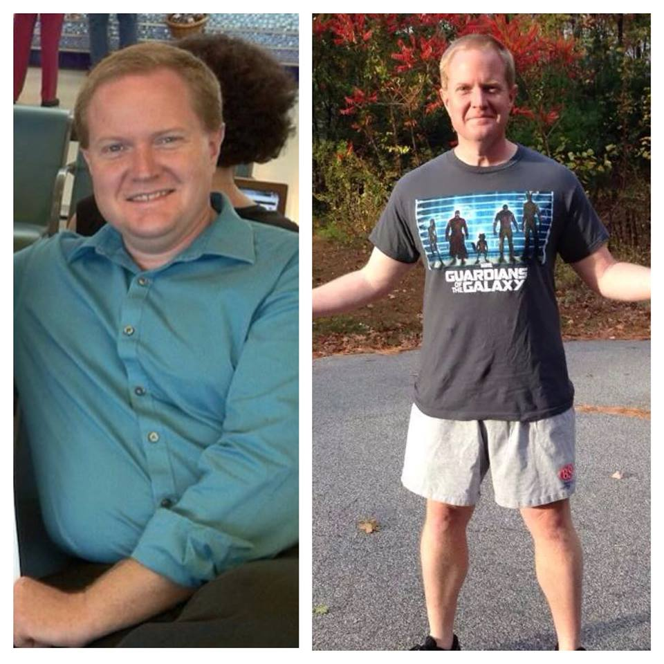 Journey to Fit: Steve Before and After