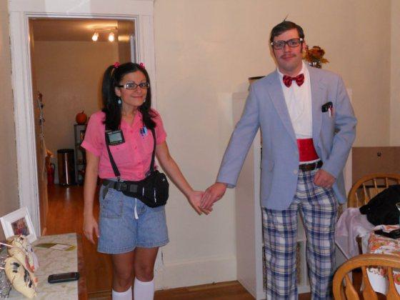 Couple's Halloween Costumes: Nerds