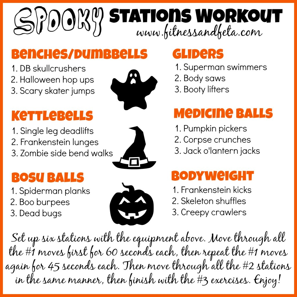 Spooky Stations Halloween Workout