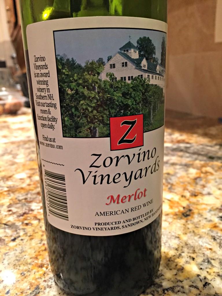 Zorvino Vineyards Merlot