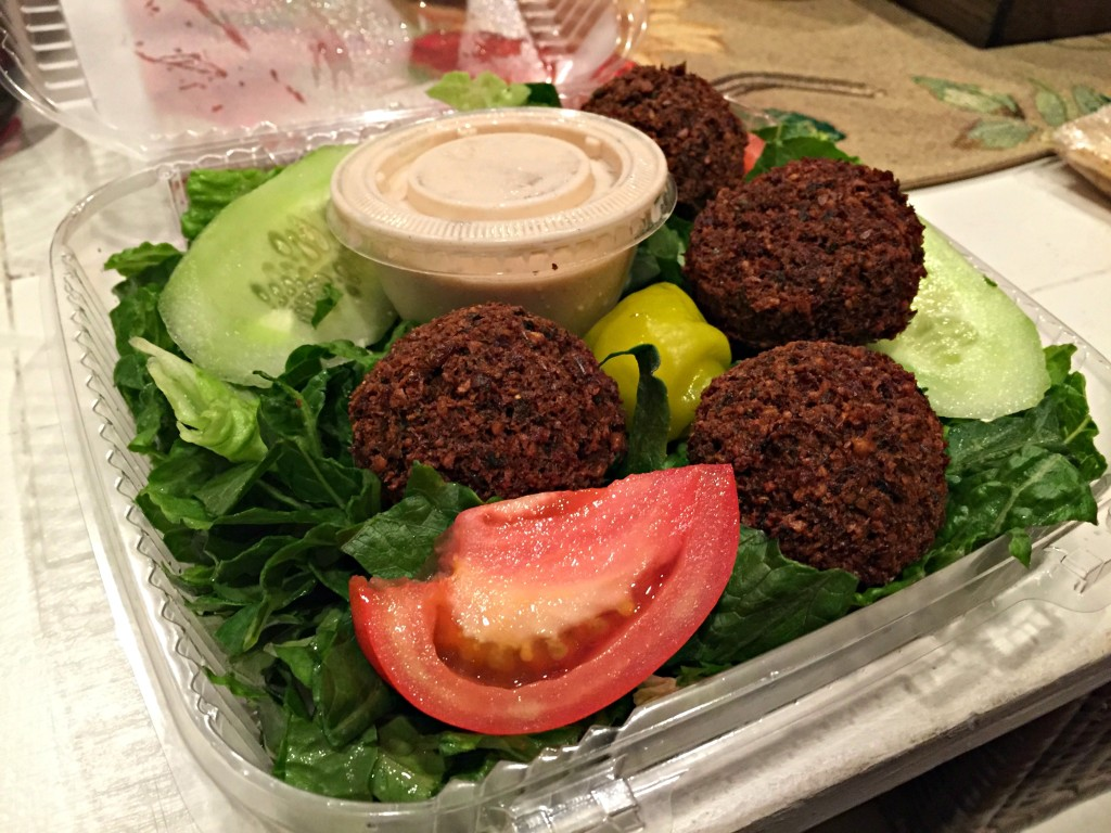 Fordee's Falafel and Deli: Falafel Salad
