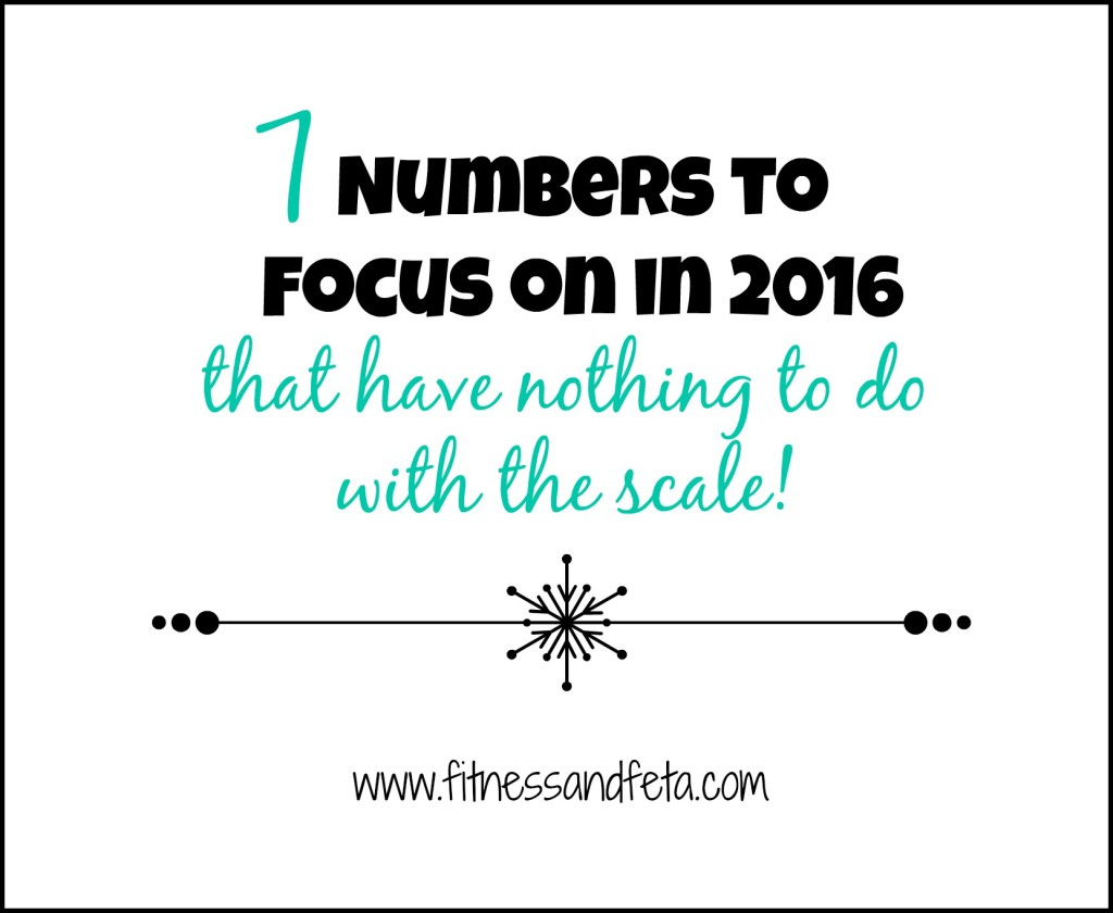 7 Numbers to Focus on in 2016