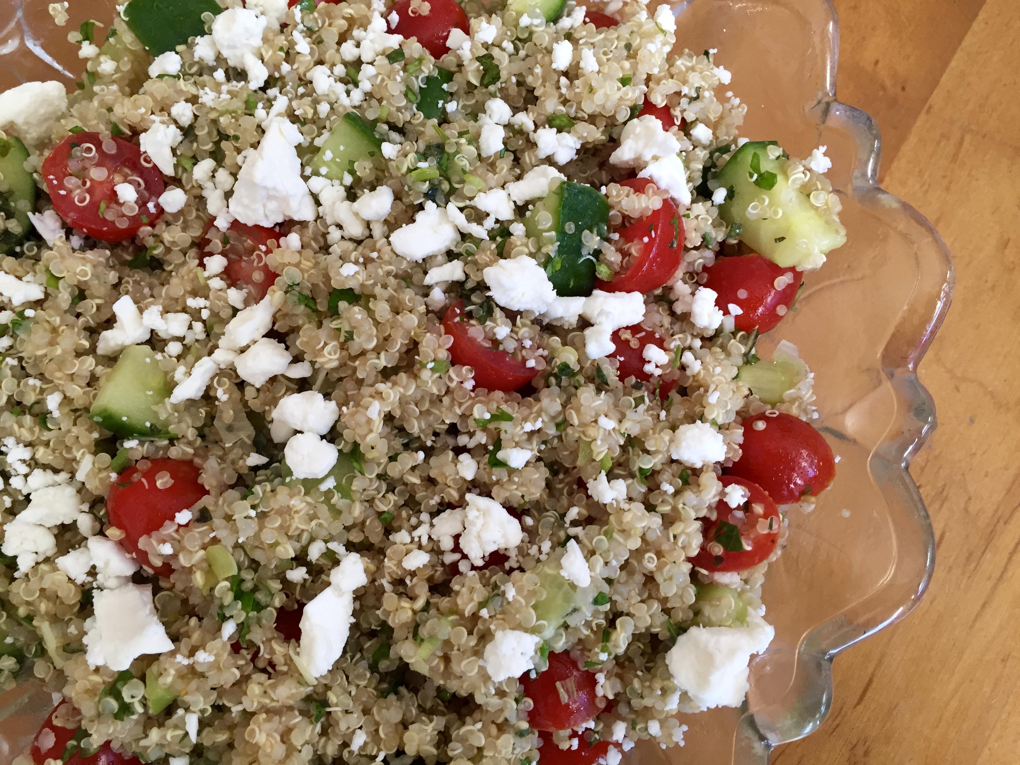 Festive Quinoa Tabbouleh