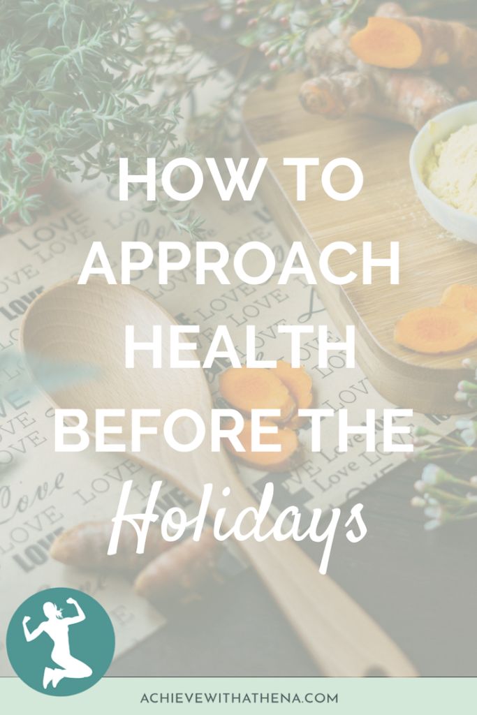 How to Approach the Holidays Before the Holidays
