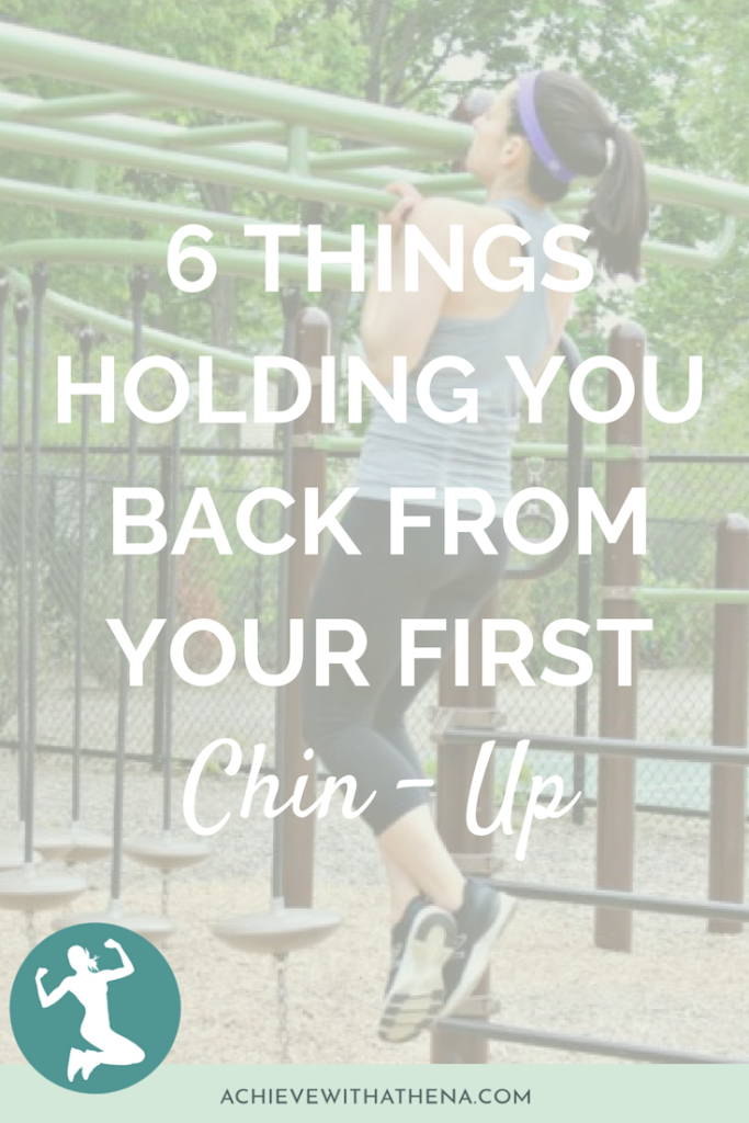 6 Things Holding You Back From Your First Chin-Up
