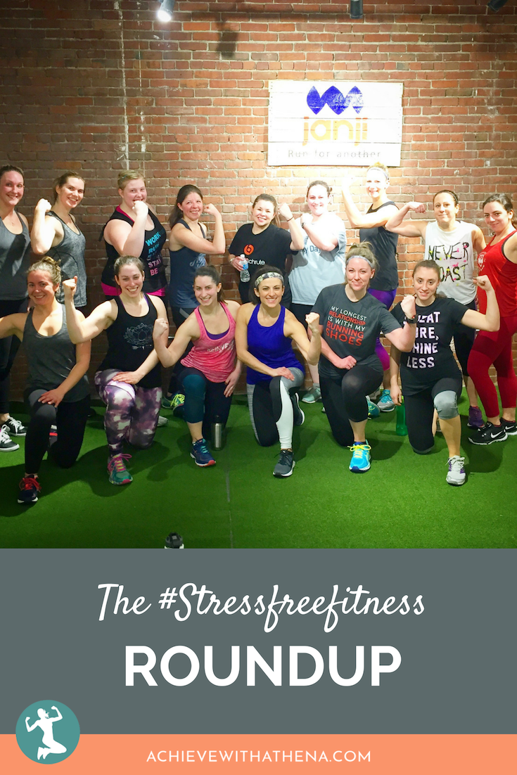 The #StressFreeFitness Roundup: January
