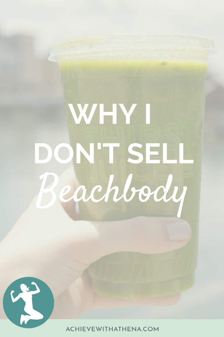 Why I Don't Sell Beachbody