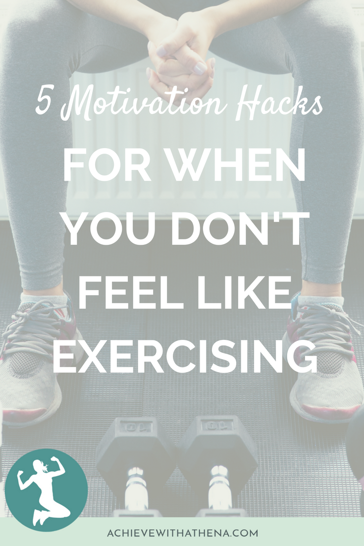 5 Motivation Hacks for Days You Don't Feel Like Exercising